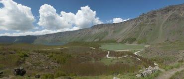 Lago Nemrut en Anatolia Foto de archivo libre de regalías