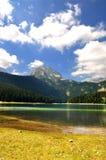Lago nero Fotografia Stock