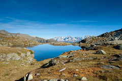Lago Nero - Dolomites Royalty Free Stock Photography