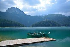 Lago nero (jezero) di Crno - Durmitor Fotografia Stock