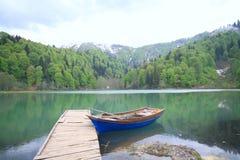 Lago nero in Turchia fotografie stock