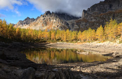 Lago Nerro Royaltyfri Fotografi