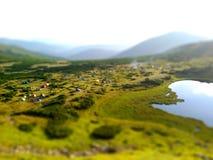 Lago Nesamovyte Foto de Stock Royalty Free