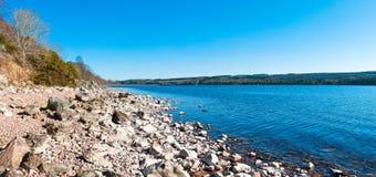 Lago Ness Panorama Imagenes de archivo