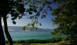 Lago Neuchatel Foto de Stock