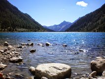 Lago Neves Foto de Stock Royalty Free