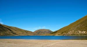 Lago new Zealand Imagen de archivo libre de regalías