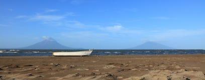 Lago Nicarágua fotografia de stock