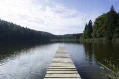 Lago no bavaria Foto de Stock Royalty Free