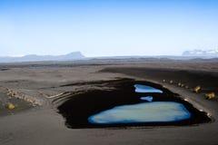 Lago no deserto Fotografia de Stock Royalty Free