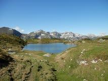 Lago no Obertauern Imagem de Stock Royalty Free