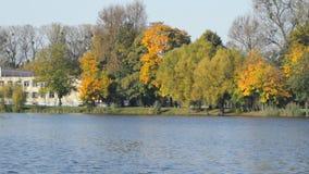 Lago no parque filme