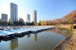 Lago no parque de Ueno, Tóquio Imagens de Stock