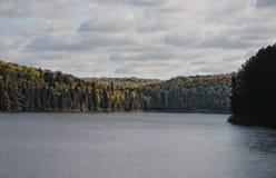 Lago no parque do Algonquin Fotos de Stock