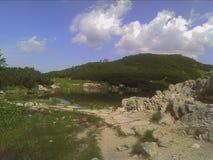 Lago no parque nacional imagens de stock royalty free