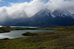 Lago Nordenskjol, Torres del Paine NP, Patagonia Royalty Free Stock Images
