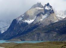 Lago Nordenskjold, национальный парк Torres del Paine, Чили Стоковая Фотография RF