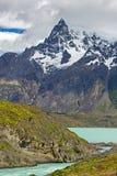 Lago Nordenskjold Imagem de Stock Royalty Free