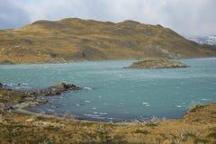 Lago Nordenskjold, Torres del Paine National πάρκο, Χιλή Στοκ φωτογραφίες με δικαίωμα ελεύθερης χρήσης
