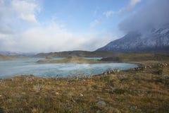 Lago Nordenskjold, Torres del Paine National πάρκο, Χιλή Στοκ φωτογραφία με δικαίωμα ελεύθερης χρήσης