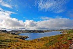 Lago norteño Fotos de archivo libres de regalías
