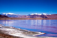 Lago norte de Chabyer Co Imagens de Stock Royalty Free