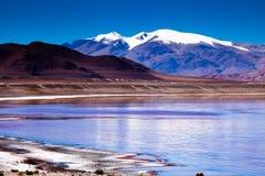 Lago norte de Chabyer Co Fotos de Stock