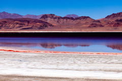 Lago norte de Chabyer Co Fotografia de Stock