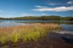 Lago Northwoods imagenes de archivo