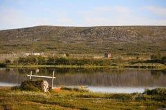 Lago in Norvegia Fotografia Stock Libera da Diritti