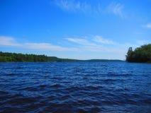 Lago Nova Scotia Canada dollar Imagens de Stock