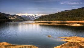 Lago novembre Vidra Immagini Stock Libere da Diritti