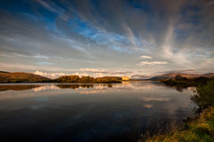 Lago nucleare Fotografia Stock
