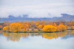 Lago, Nueva Zelandia Fotos de archivo