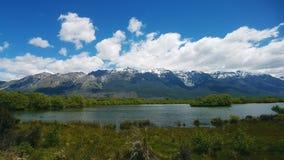 Lago in Nuova Zelanda Immagine Stock Libera da Diritti