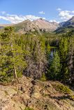 Lago nymph, Colorado imagen de archivo