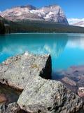 Lago O'Hara, Yoho National Park, Canadá fotos de archivo libres de regalías
