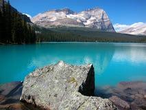 Lago O'Hara, Yoho National Park, Canada fotografia stock libera da diritti
