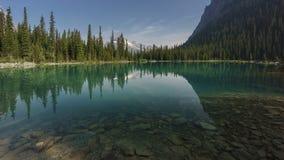 Lago O'Hara, Yoho National Park, canadense Montanhas Rochosas, Ingleses Colum Imagem de Stock