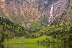 Lago Obersee Imagens de Stock Royalty Free