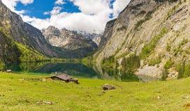 Lago Obersee Fotos de Stock