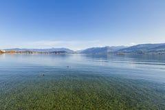 Lago Obersee Imagens de Stock