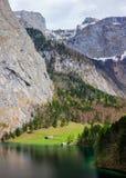 Lago Obersee La Baviera, Germania Immagine Stock Libera da Diritti