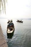 lago ocidental de hangzhou da porcelana Fotografia de Stock Royalty Free