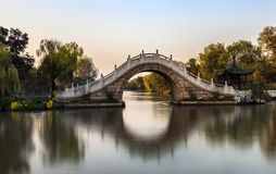 Lago ocidental delgado Yangzhou Imagens de Stock Royalty Free