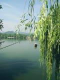 Lago ocidental Hangzhou Fotografia de Stock