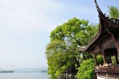 Lago ocidental, Hangzhou, China Imagens de Stock Royalty Free