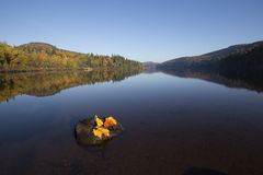 Lago october Fotografia Stock Libera da Diritti