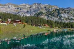 Lago Oeschinen/Oeschinensee, Svizzera IV Immagine Stock Libera da Diritti