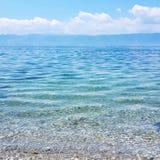 Lago Ohrid fotografía de archivo